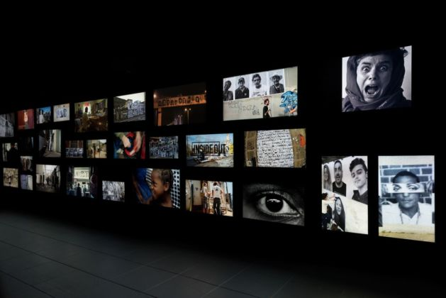 JR. Chronicles Exhibition view at Brooklyn Museum, New York City 2019. Image courtesy Brooklyn Museum, photo Jonathan Dorado