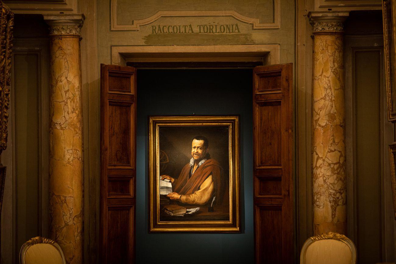 L'enigma del reale. Exhibition view at Gallerie Nazionali di Arte Antica – Galleria Corsini, Roma 2019. Photo Alberto Novelli
