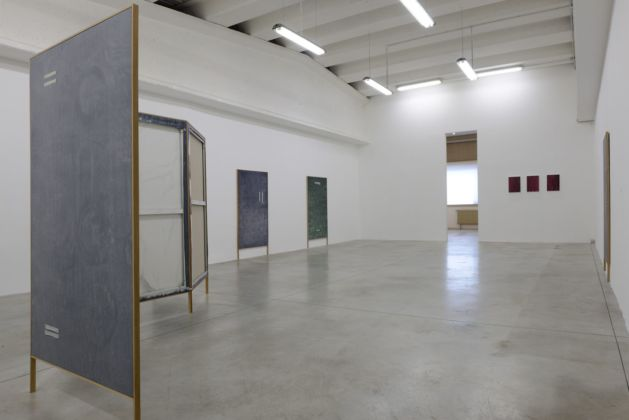 Linda Carrara. Chôra. Exhibition view at Boccanera Gallery, Trento 2019. Photo Nicola Eccher