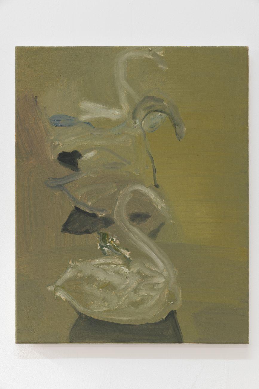 Marta Ravasi, Petite Patisserie, 2016, olio su tela, 55 x 43cm. Photo Roberto Marossi