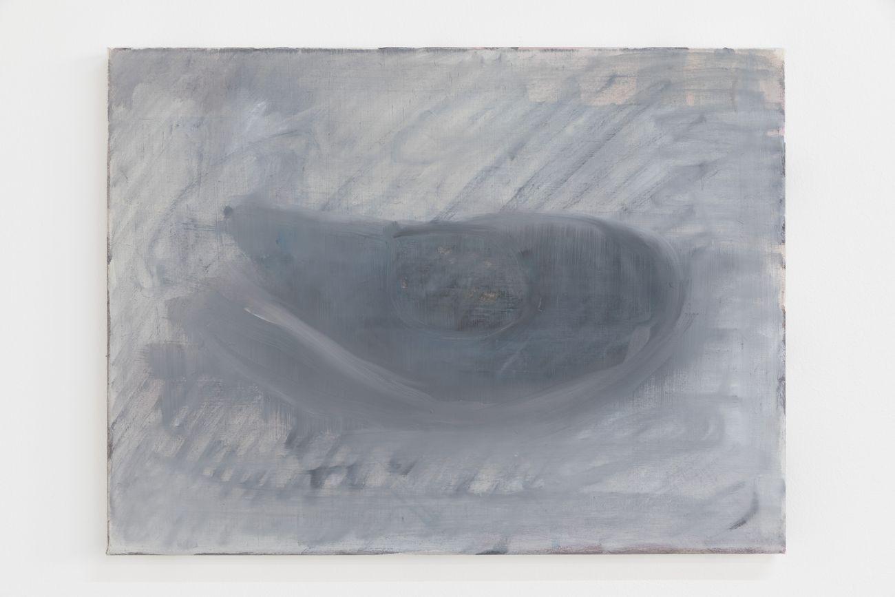 Marta Ravasi, Untitled, Mussle, 2016, olio su tela, 35 x 47 cm. Photo Roberto Marossi