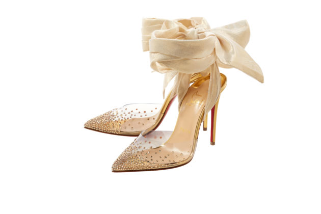 Christian Louboutin, Miragirl 100 Version gold