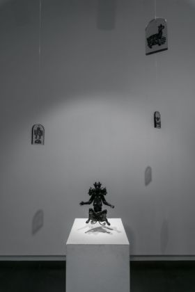 Morehshin Allahyari, She Who Sees the Unknown. Huma. Photo Caitlin Motley. Courtesy of the artist and Upfor Gallery