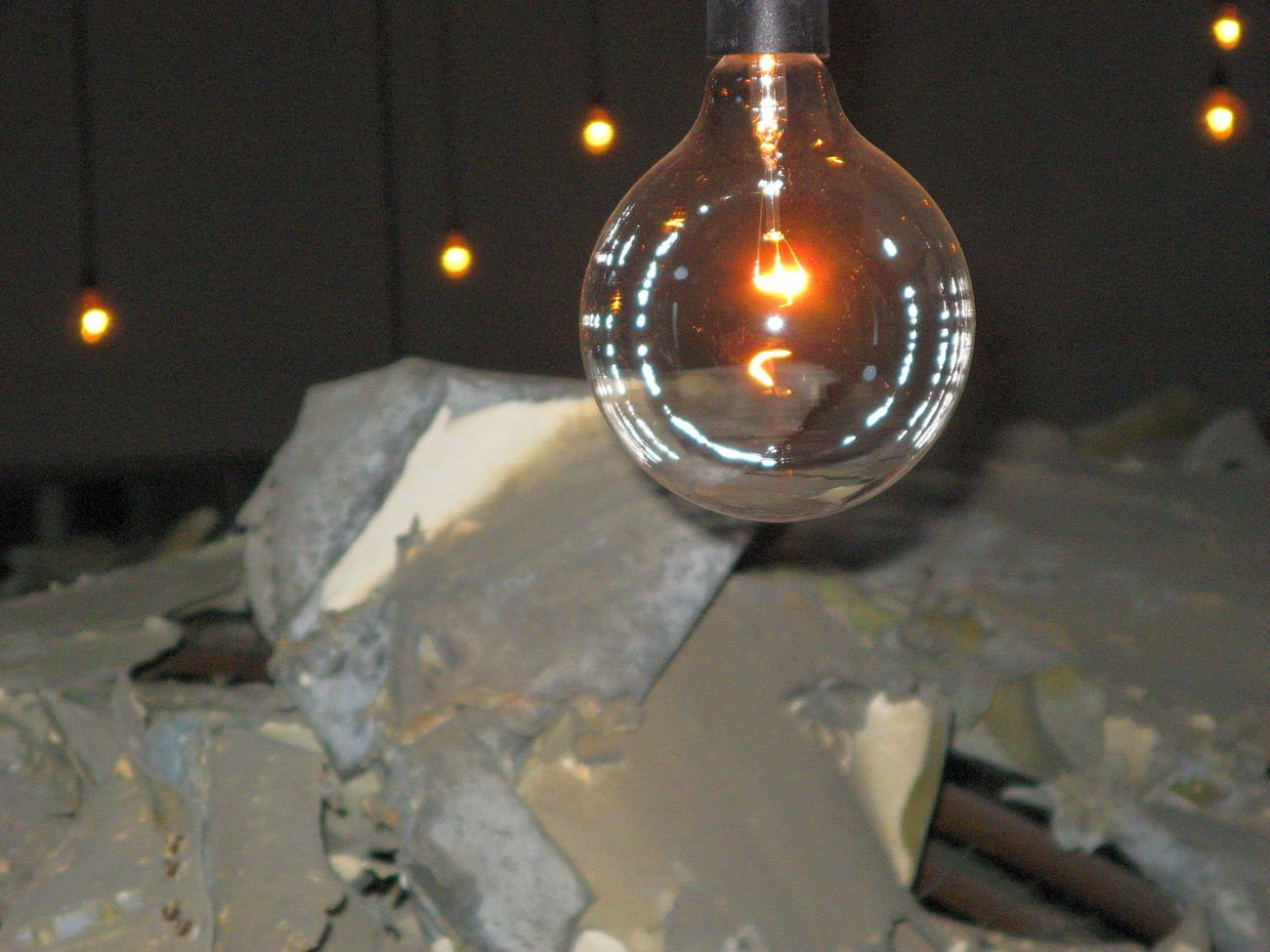 Museo per la Memoria di Ustica, Bologna. Christian Boltanski, A proposito di Ustica, 2007, particolare. Photo Sandro Capati