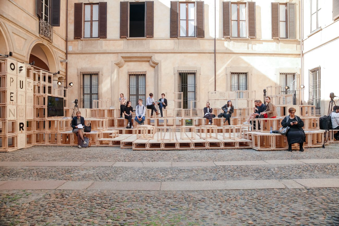 Open Design School a Palazzo Clerici, Milano Design Week 2017. Photo Alfredo Chiarappa