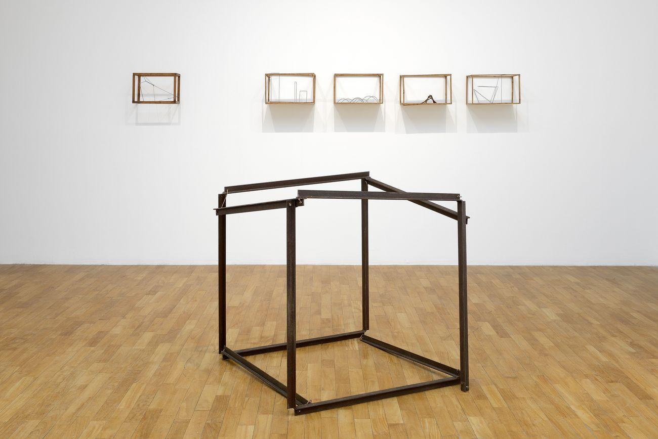 Paolo Icaro. Antologia. Exhibition view at GAM – Galleria Civica d'Arte Moderna e Contemporanea, Torino 2019. Photo Michele Alberto Sereni
