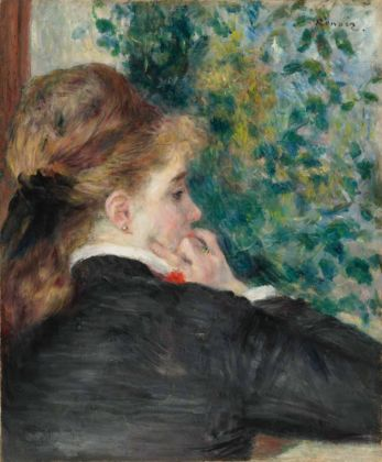 Pierre Auguste Renoir, Pensierosa (La Songeuse), 1875. Collection of Mr. and Mrs. Paul Mellon