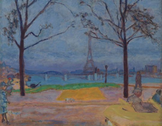 Pierre Bonnard, Il Pont de Grenelle e la Tour Eiffel, 1912 ca. Collection of Mr. and Mrs. Paul Mellon