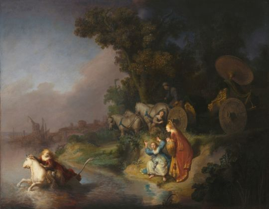 Rembrandt, Ratto d'Europa, 1632. Los Angeles, J. Paul Getty Museum