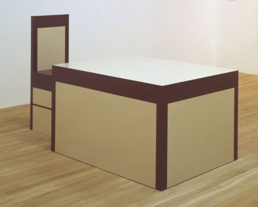 Richard Artschwager, Table and Chair, 1963-64. Tate, London 2019