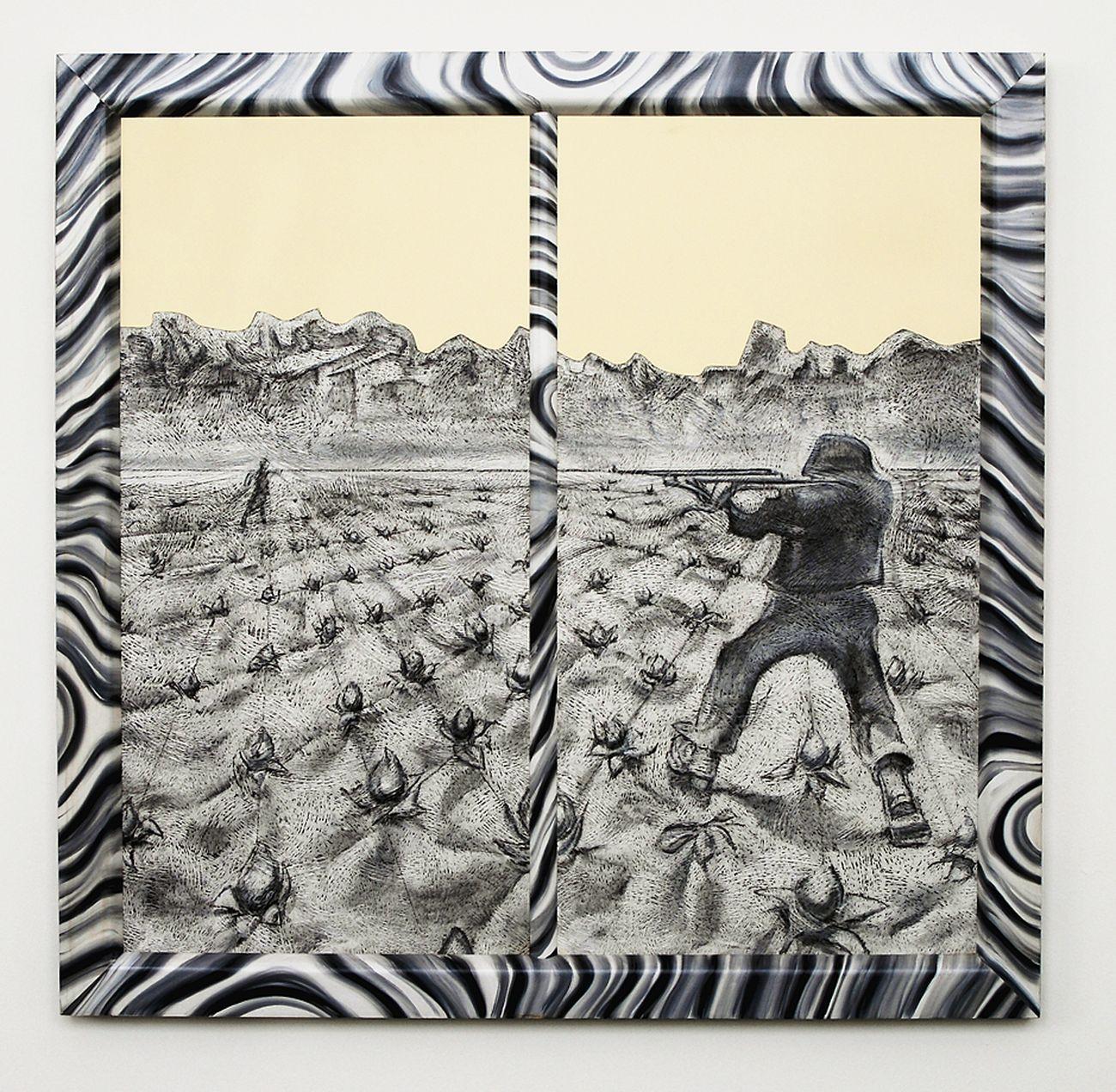 Richard Artschwager, Two Point Perspective, 1994. Heinz und Marianne Ebers Stiftung, Kunstmuseen Krefeld. Kunstmuseen Krefeld Dirk Rose © ARTOTHEK