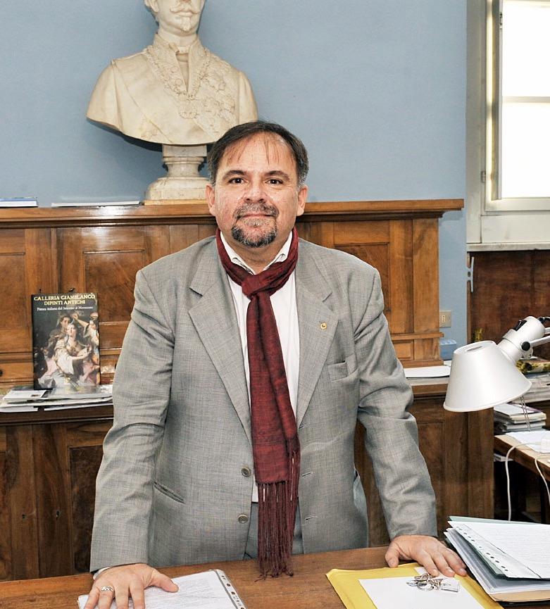 Il regista Salvo Bitonti, direttore dell' Accademia Albertina