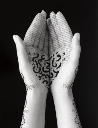 Shirin Neshat, Offerings, 2019. Courtesy l'artista & Gladstone Gallery, New York Bruxelles