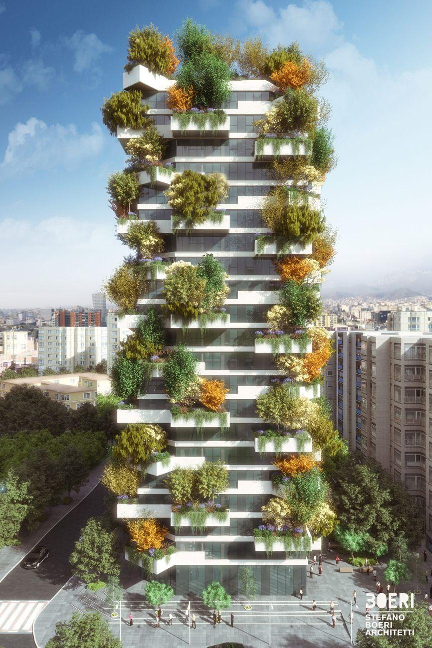 Stefano Boeri Architetti, Tirana Vertical Forest