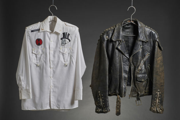 White shirt and leather jacket worn by The Clash - © The Clash