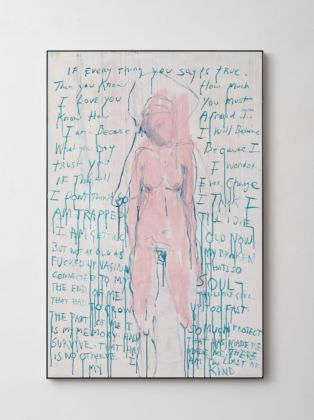 Tracey Emin, I am The Last of my Kind, 2019. Courtesy of Galleria Lorcan O'Neill