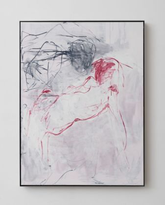 Tracey Emin, I want with you I want to give you everything, 2019. Courtesy of Galleria Lorcan O'Neill