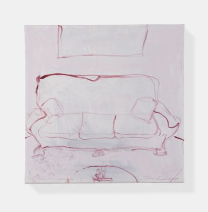Tracey Emin, You held me in your arms, 2019. Courtesy of Galleria Lorcan O'Neill