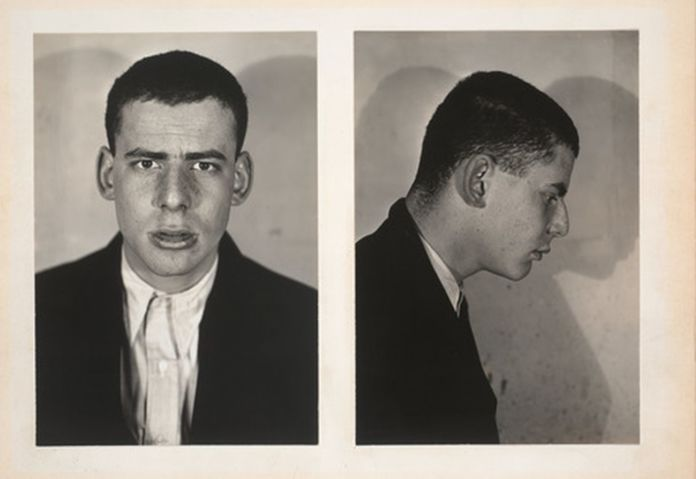 Walker Evans, Two Rogues, 1930, Portrait of Lincoln Kirstein, 1930. Photo credit Yale University Art Gallery