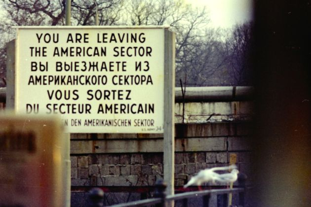 Esther Friedman, You're leaving the american sector, 1978