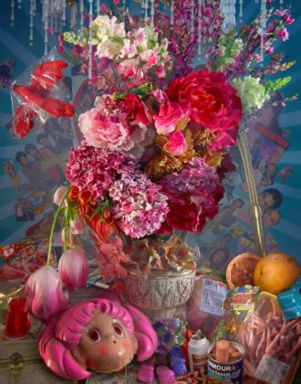 David LaChapelle, Springtime dalla serie Earth laughs in Flowers Los Angeles, 2008-2011. Chromogenic print # 1-00037094 152,4 × 116,4082 cm Courtesy Studio David LaChapelle © David LaChapelle 2008-2011