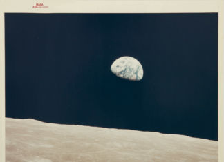 Apollo 8, Earthrise Courtesy Sotheby's