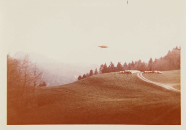 Lot 214 #1 Billy Meier Photograph, Featured in the X Files Courtesy Sotheby's