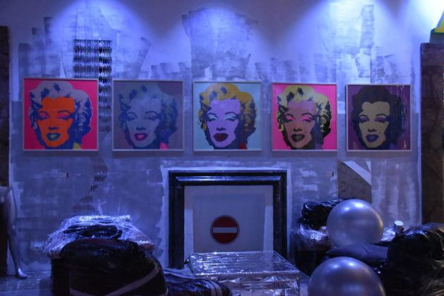 Andy Warhol, The Factory - Contemporary Cluster Roma