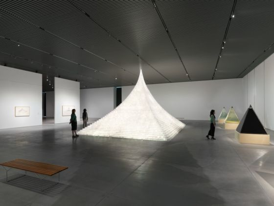 Agnes Denes. Absolutes and Intermediates. Installation view at The Shed, New York 2019. Photo Dan Bradica. Courtesy The Shed