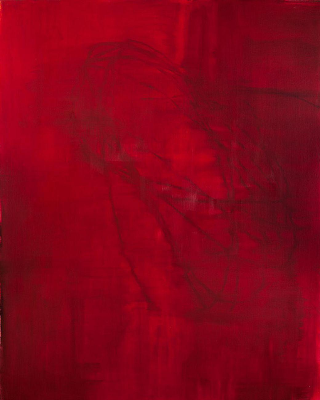 Alessandro Sarra, Senza titolo 01 M, 2012, olio su tela, cm 200x160