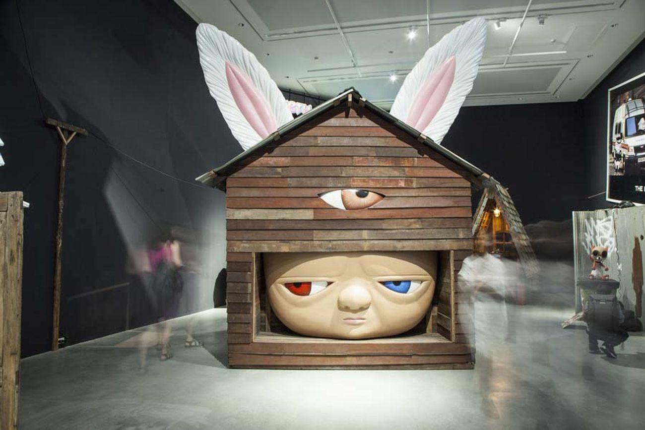 Alex Face, Memory House. Courtesy Bangkok Art Biennial 2018