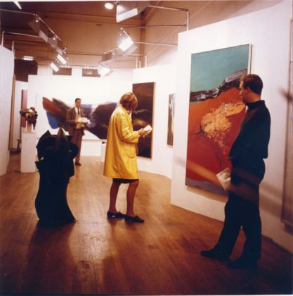 Alison and Peter Smithson, Painting & Sculpture of a Decade 54–64 exhibition, Tate Gallery, London, 1964. Photo © Sandra Lousada