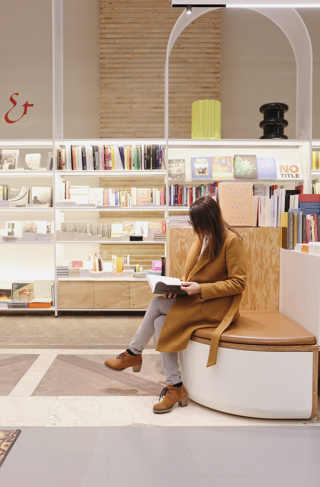 Bookshop Triennale foto di Stefano Sorce.