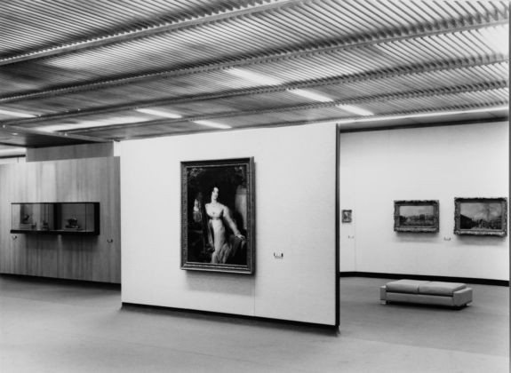 Calouste Gulbenkian Museum. 18th and 19th centuries painting and sculpture gallery – England, 1970. Photo Mário de Oliveira
