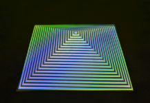 Carlos Cruz-Diez. Colore come evento di spazi. Installation view at Dep Art Gallery, Milano 2019
