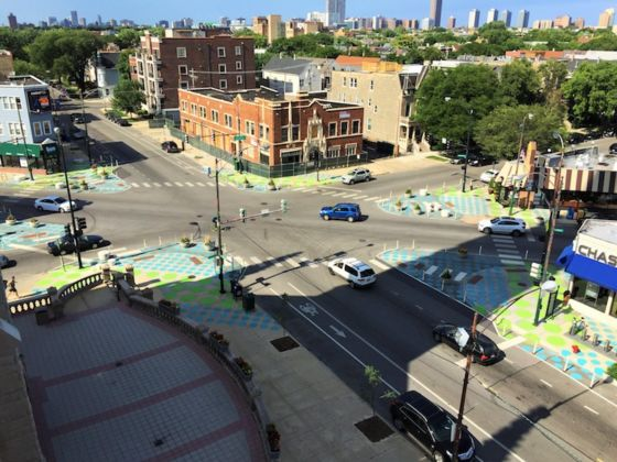 Chicago Artist Site Design Group Photo Credit Lakeview Chamber of Commerce Case Study