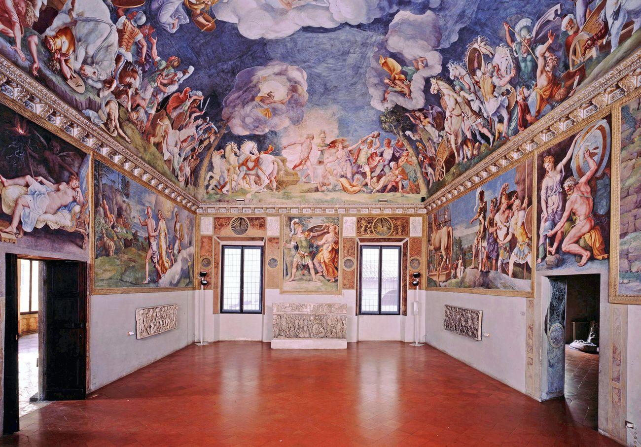 Complesso Museale Palazzo Ducale Sala di Troia; © Ministero per i Beni e le Attività culturali, Complesso Museale Palazzo Ducale di Mantova