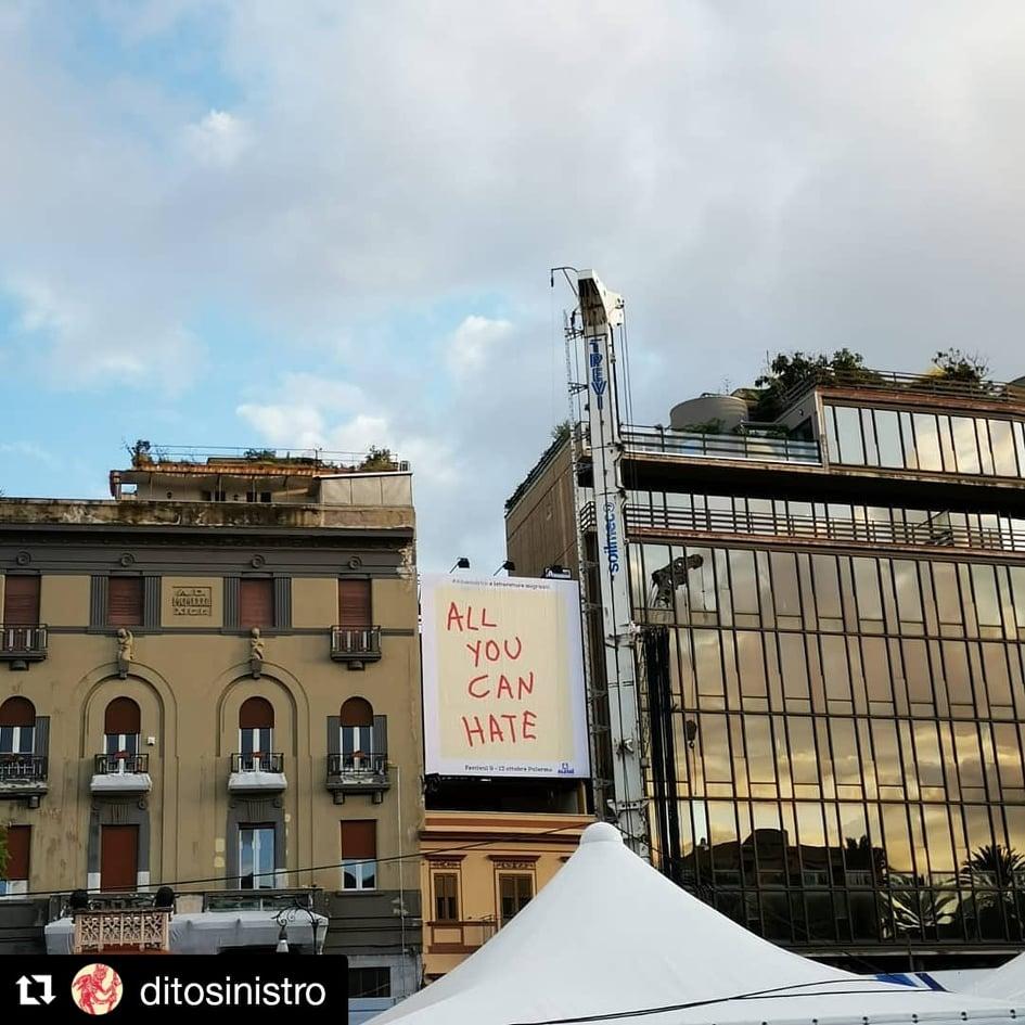 Dito Sinistro per il Festival delle Letterature Migranti, a Palermo