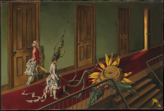 Eine Kleine Nachtmusik by Dorothea Tanning, 1943. ©-ADAGP,-Paris-and-DACS,-London-2019