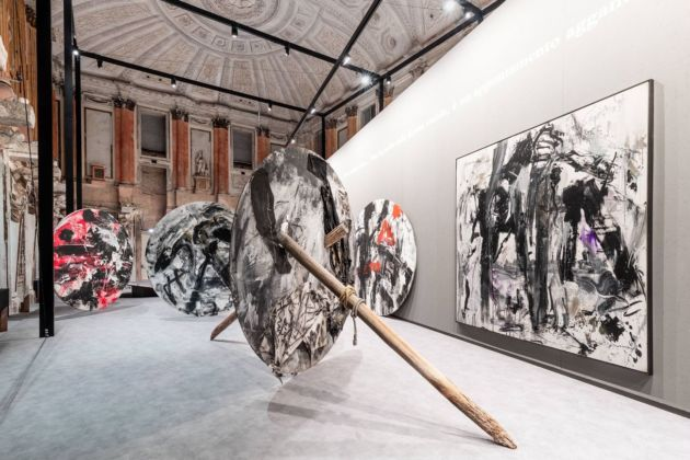 Emilio Vedova. Installation view at Palazzo Reale, Milano 2019. Photo Marco Cappelletti