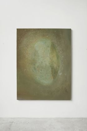 Fabio Marullo, Nebula, 2019, oil on linen ,cm 180x135