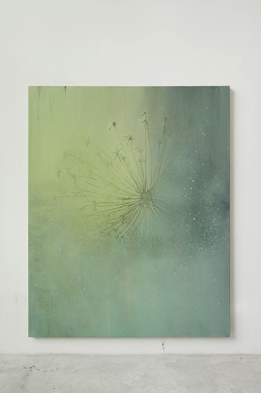 Fabio Marullo, Su questa affascinante terra, 2019, oil on linen, cm 210x170