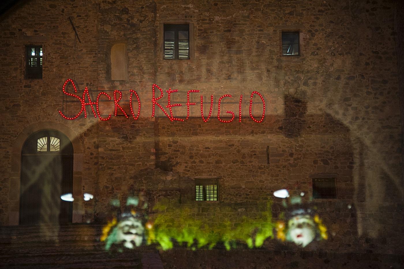 Francesco De Grandi/Dito Sinistro, Sacro Refugio, 2019. Museo Civico di Castelbuono. Ph. Valentina Minutella