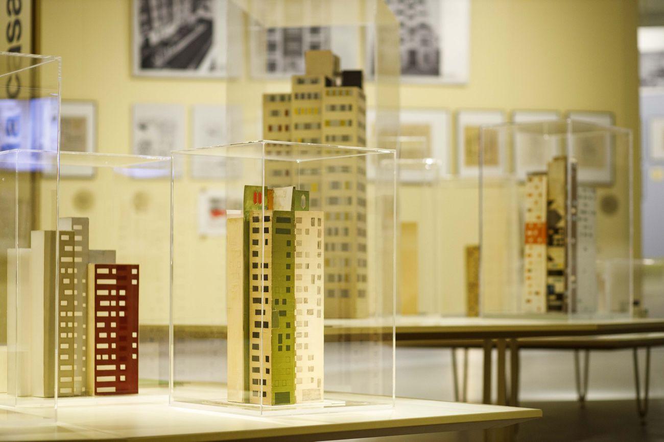 Gio Ponti. Amare l'Architettura. Exhibition view at MAXXI, Roma 2019. Photo Musacchio, Ianniello & Pasqualini. Courtesy Fondazione MAXXI