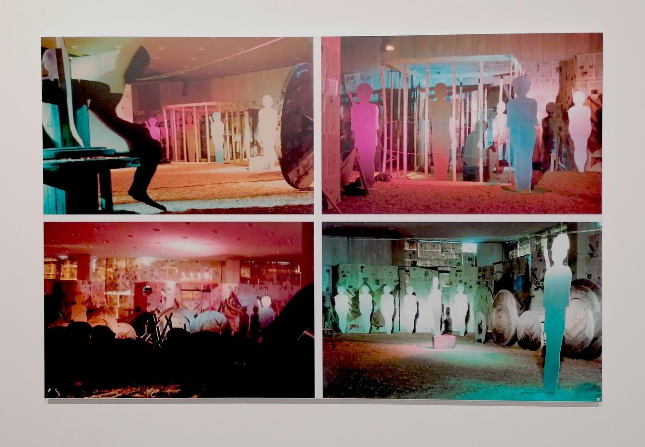 Gruppo Mauthausen, La violenza oggi… ed un'ipotesi di pace, nell'ambito della mostra Catanzaro 74 Alternativa di un gruppo. Palazzo della Provincia, Catanzaro