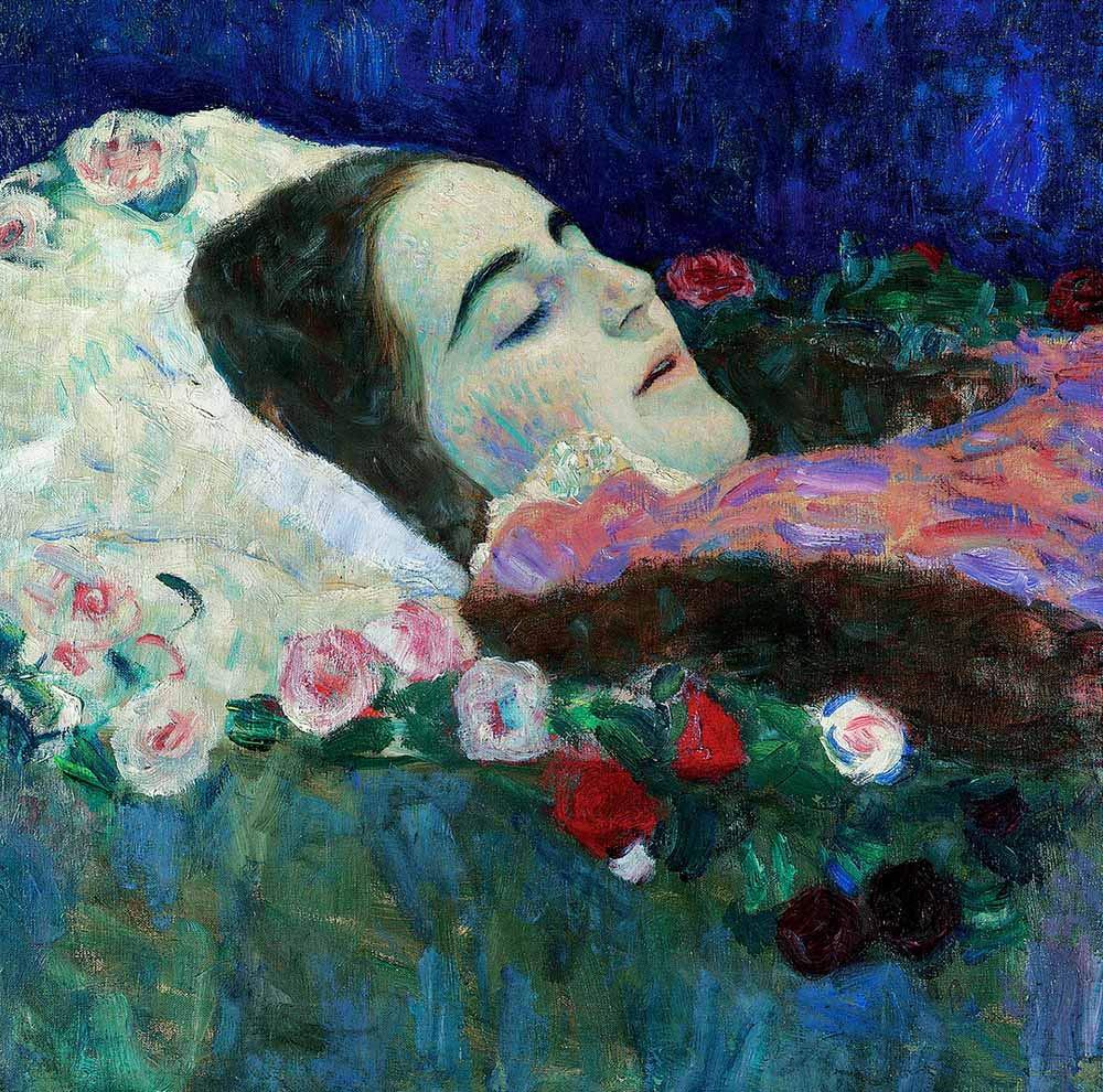 Gustav Klimt, Ria Munk sul letto di morte, 1912
