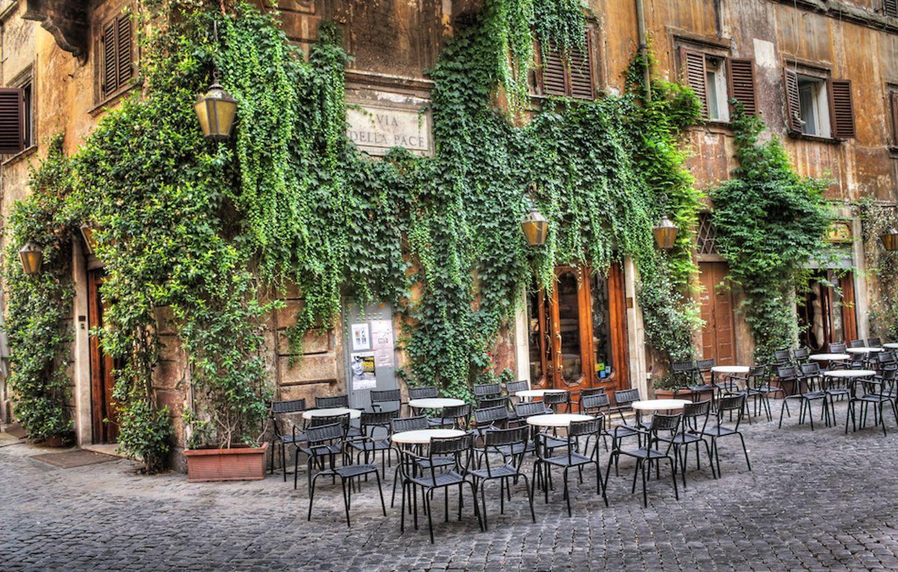 Il Caffè della Pace a Roma