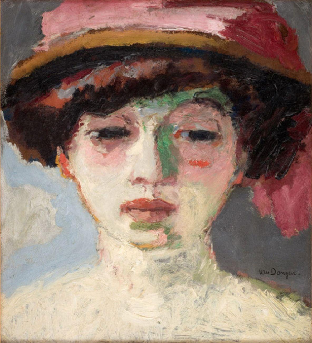 Kees van Dongen, Ritratto di Fernande Olivier, 1907, Musée Fabre, Montpellier