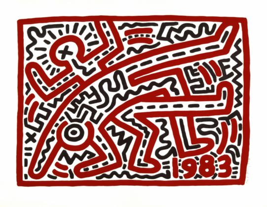 Keith Haring, Untitled, 1983, Collection of the Keith Haring Foundation © Keith Haring Foundation