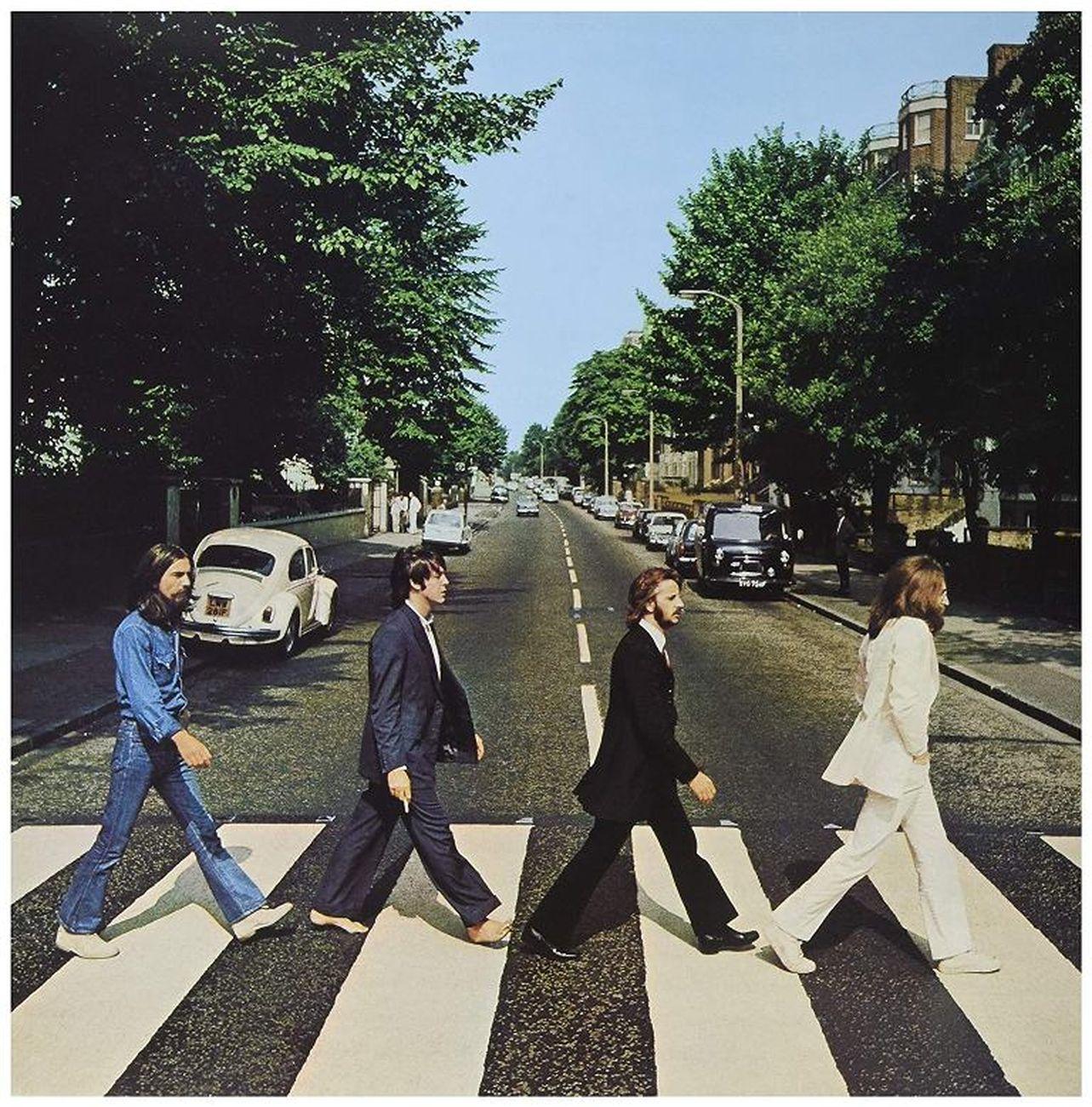 La copertina di Abbey Road dei Beatles